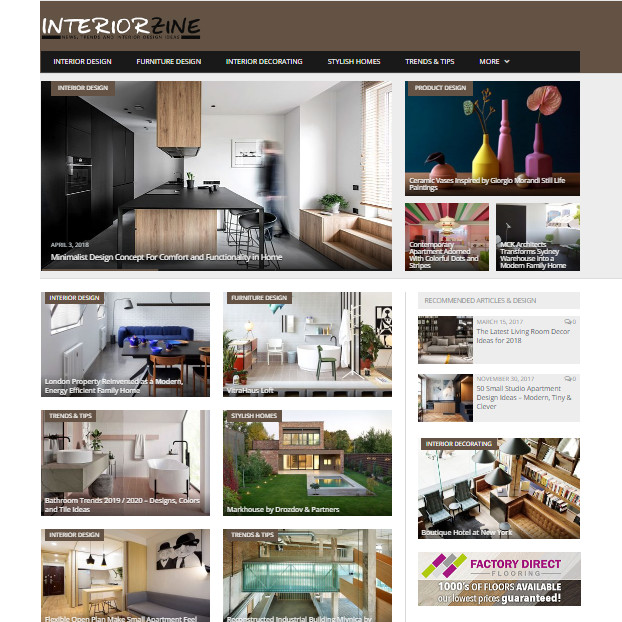interiorzine.com feed