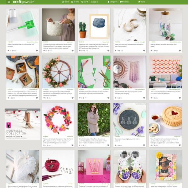 craftgawker.com feed