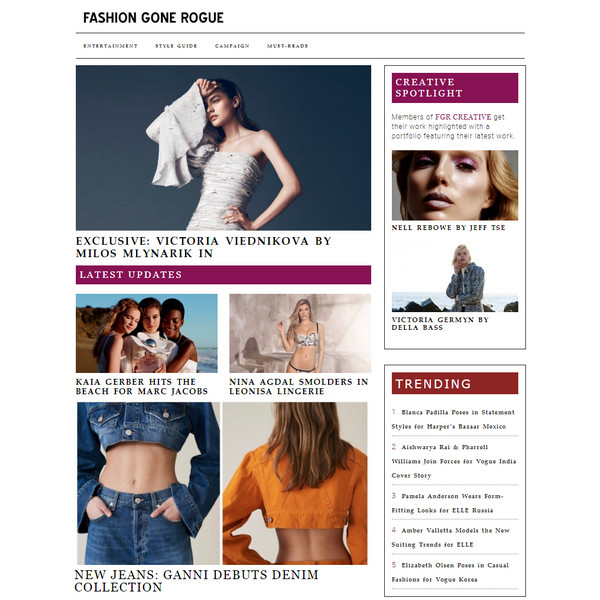 fashiongonerogue.com feed
