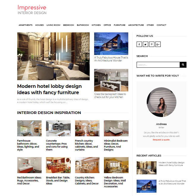 impressiveinteriordesign.com feed