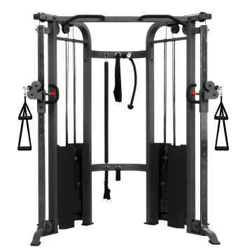 XMark Fitness Functional Trainer Cable Machine with Dual 200 lb Weight Stacks XM-7626 | Live Well Sports